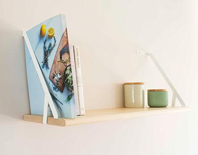 Yzy / wall shelf