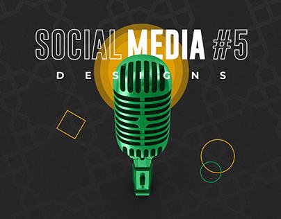 Social Media Designs #5