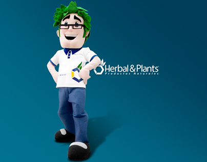 Herbalito, personaje para Herbal&Plants.