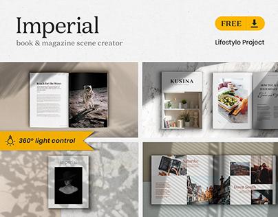 [FREE] Imperial – Book & Magazine Scene Creator