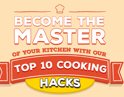 Become The Master of your kitchen Infographic