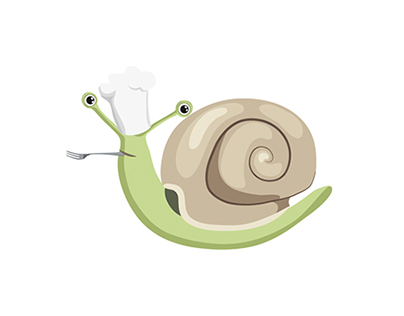 Snail character design