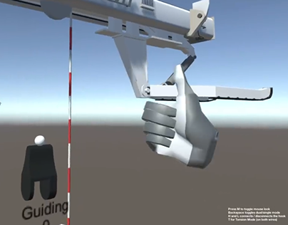 VR + Leap Motion Industrial Simulator