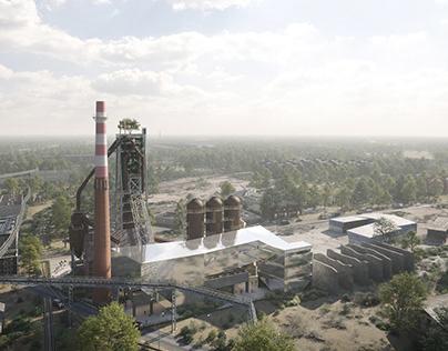 Blast Furnace in ''Pokój'' Steelworks - WXCA