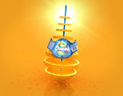 Orangina animated tag
