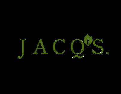 Jacq's Organics Logo Redesign