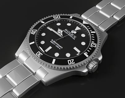 Rolex watch 3d project