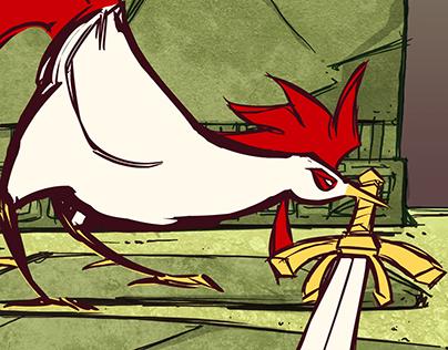 Warrior Cock - Animated Short