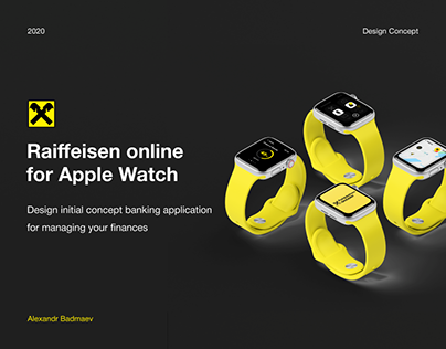 Raiffeisen online for Apple Watch
