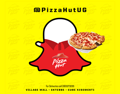 Pizza Hut on Snap Chat