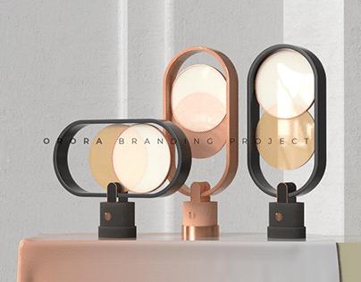 ORORA branding project