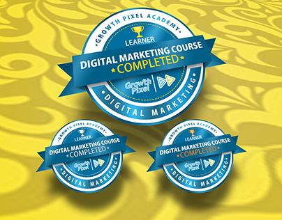 Badges | Digital Marketing course