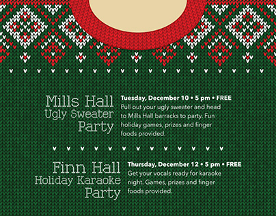MWR Liberty Barracks Holiday Parties