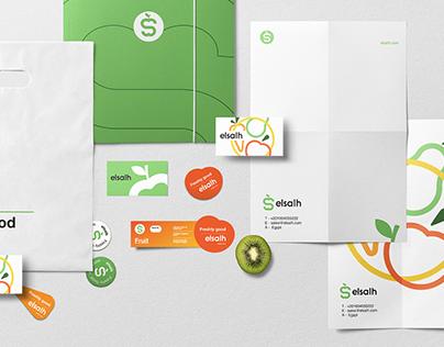 Elsalh Brand Identity Design.
