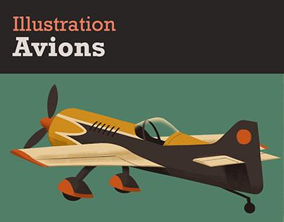 Illustration - Avions