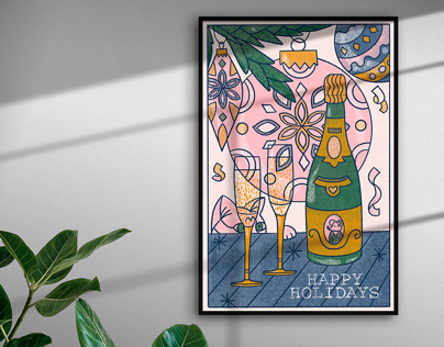 Greeting Poster for Sale