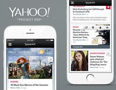 Yahoo.com Design Language