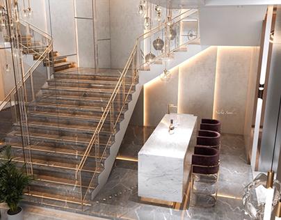 Stairs design in kSA