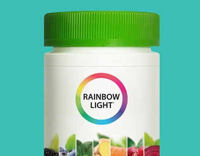 Rainbow Light - Packaging and Mockups