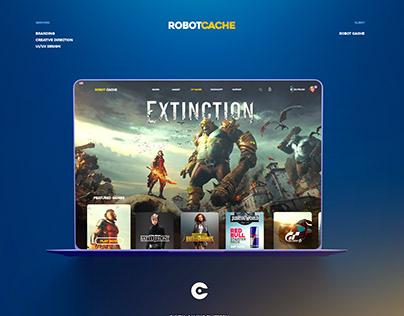 Robotcache - UI/UX Design