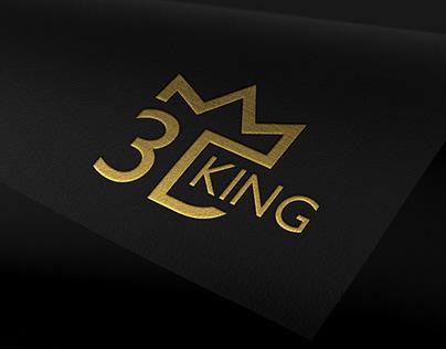 3Dking logo