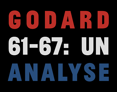 Godard 61-67: Un Analyse