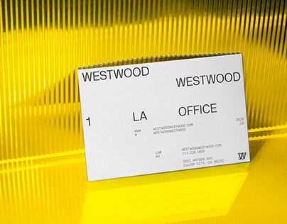 WestwoodWestwood — Brand Identity