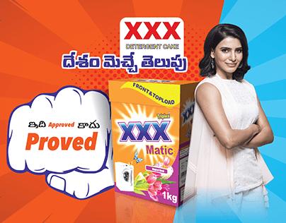 Communcation Designs | xxx Detergent