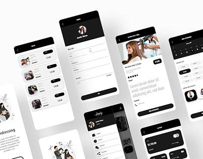 Salon Appointment Booking App Design