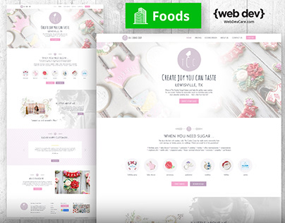 The Cookie Coop Redesign by {web Lakeland}