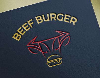 "Logo ""BEEF BURGER"""
