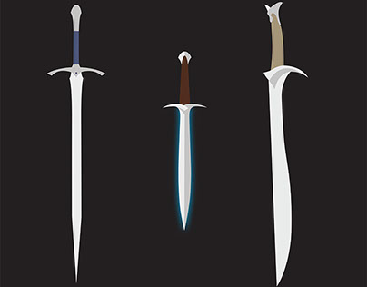 Middle Earth Minimalist Posters