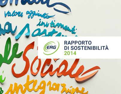 ERG Sustainability Report 2014