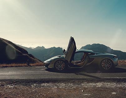 McLaren 570S – CGI