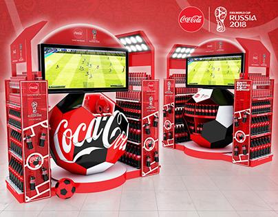 Creative vending equipment Coca Cola