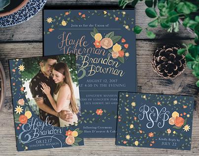 Wedding Invitation | Hayle & Brandon