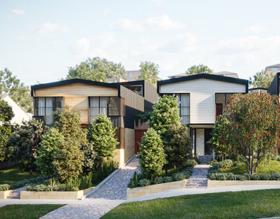 2020 - Inner West Multi Dwelling Housing with Geoform