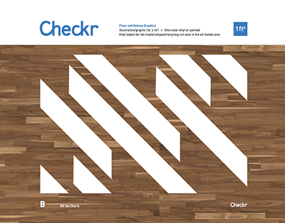 Checkr Floor and Refuse Graphics