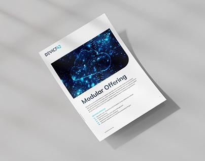 Device42 Marketing