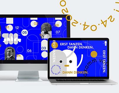 "Corporate design ""100 Jahre SRH Wald-Klinikum Gera"""