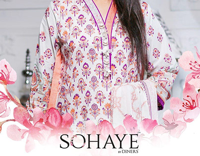 Sohaye 3pc, 2pc Pret Collection