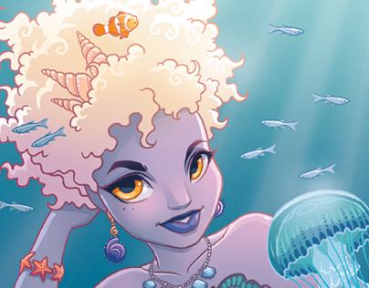 Mermaid Character Concepts