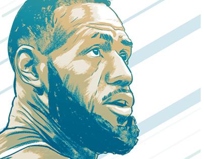 Racion the NBA - Poster art