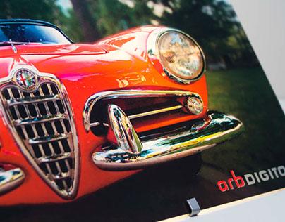 Backlit Car Photo