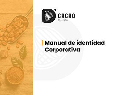 D' Cacao - Manual de Identidad