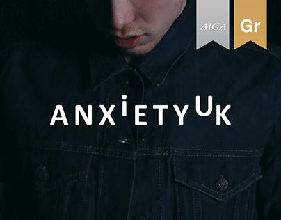 AnxietyUK Rebranding and Awareness Campaign