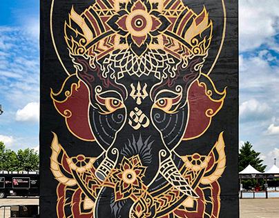 Sonic Temple: Murals