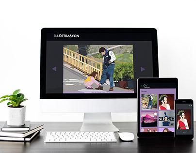 kişisel web sitesi aplikasyonu