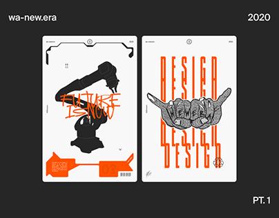 WA-NEW.ERA ● Poster collection PT. 1