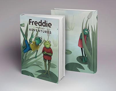 Illustration + Layout: Freddie The Frog's Adventures